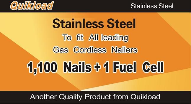 Quikload Stainless Steel Nails