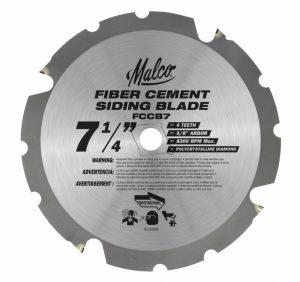 Malco Fibre Cement Circular Saw Blade