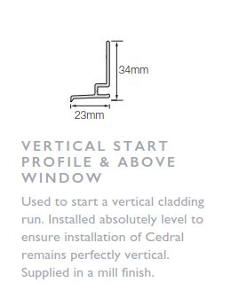 Click Vertical Start Profile